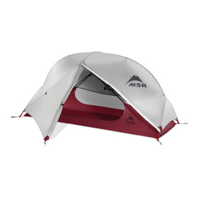 MSR Hubba NX - Tente igloo 1 personne - gris/rouge